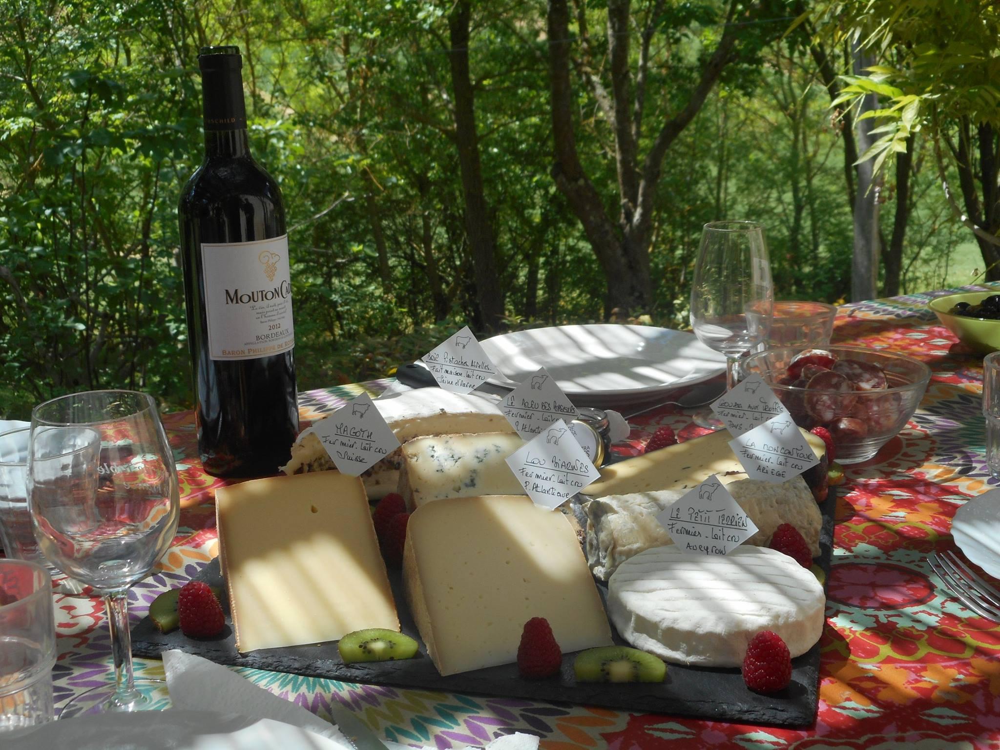 Repas – Pied à Terre en Gascogne