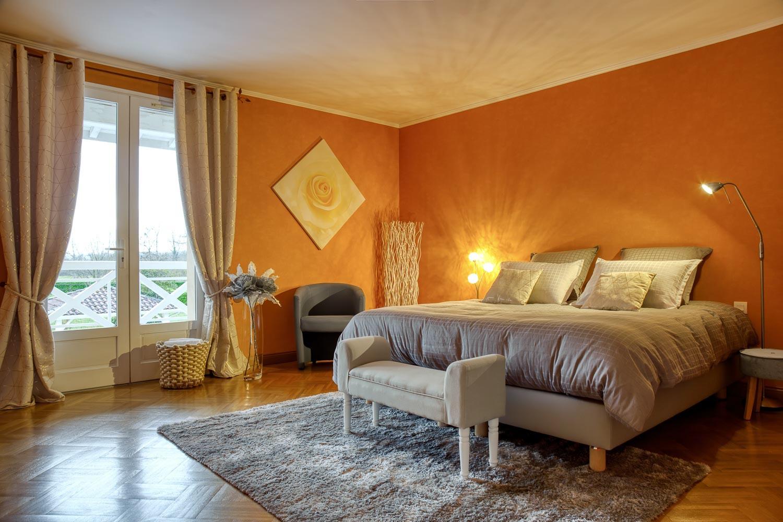 Domaine de Cyprès – chambre orange