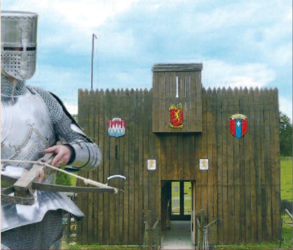 Camp de Siège Médiéval – entrée bastille