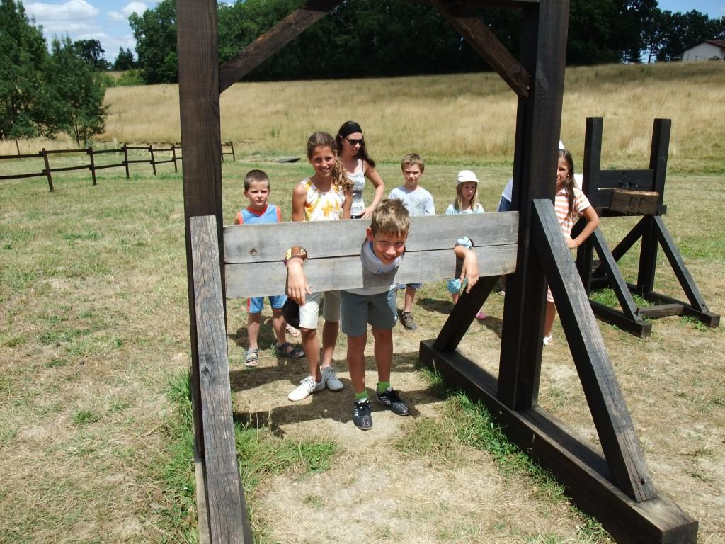 Camp de Siège Médiéval – pilori
