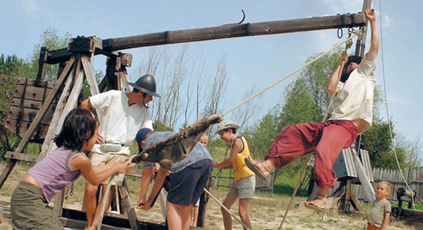 Camp de Siège Médiéval