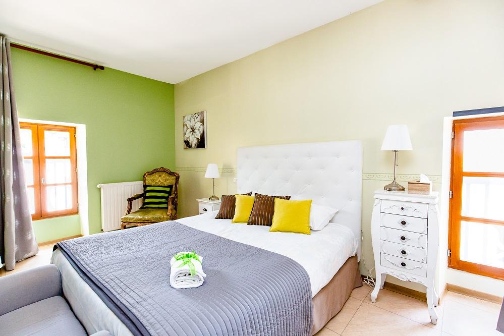 Chambre verte le Castagné