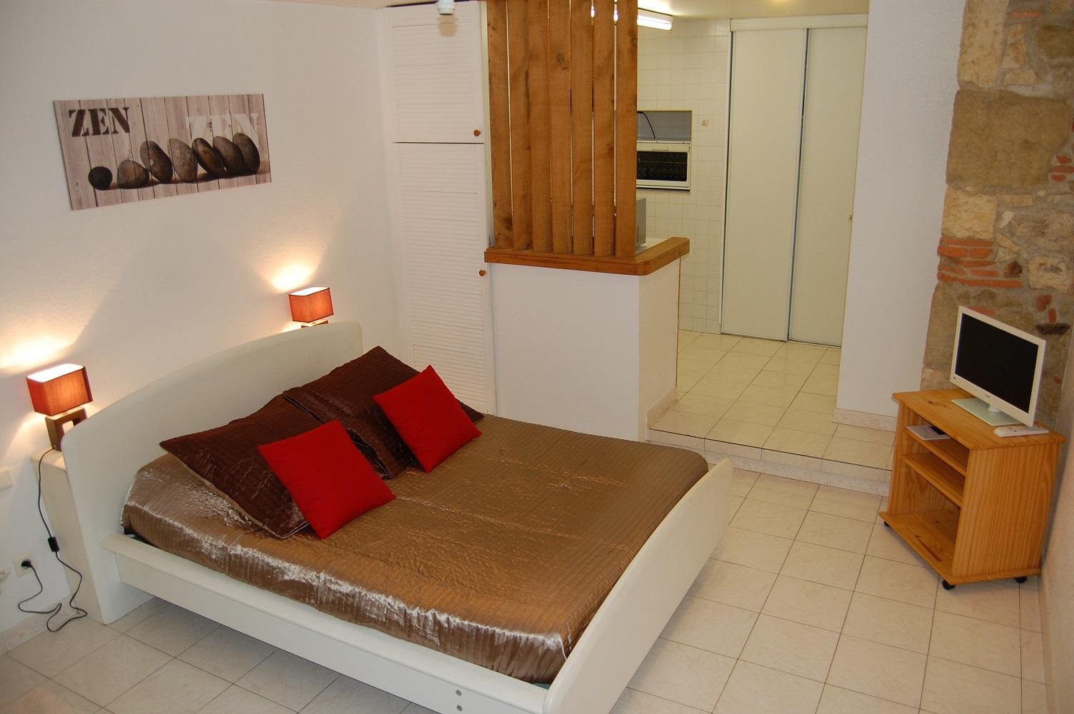 Chambre_Domaine du Bouscassé_Auch (4)
