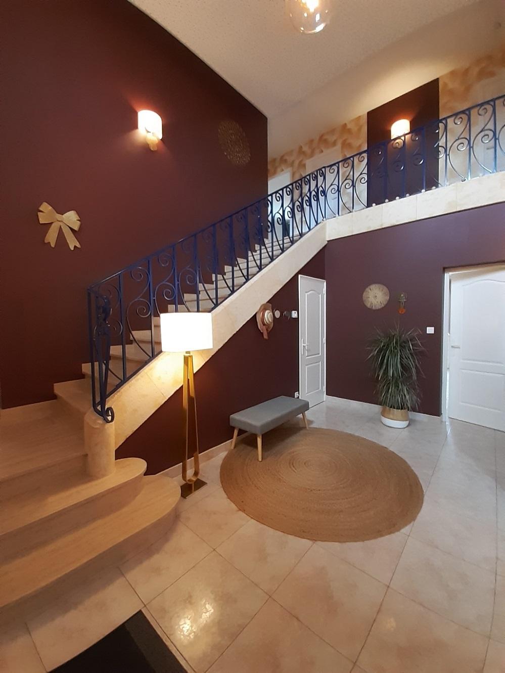 Hall d'entrée Domaine des Cyprès