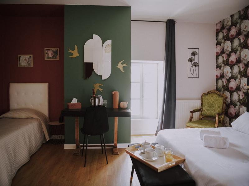 Alojamiento y desayuno Domaine le Castagné
