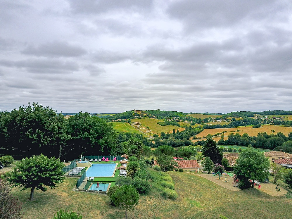 Vista aérea Domaine Le Castagné