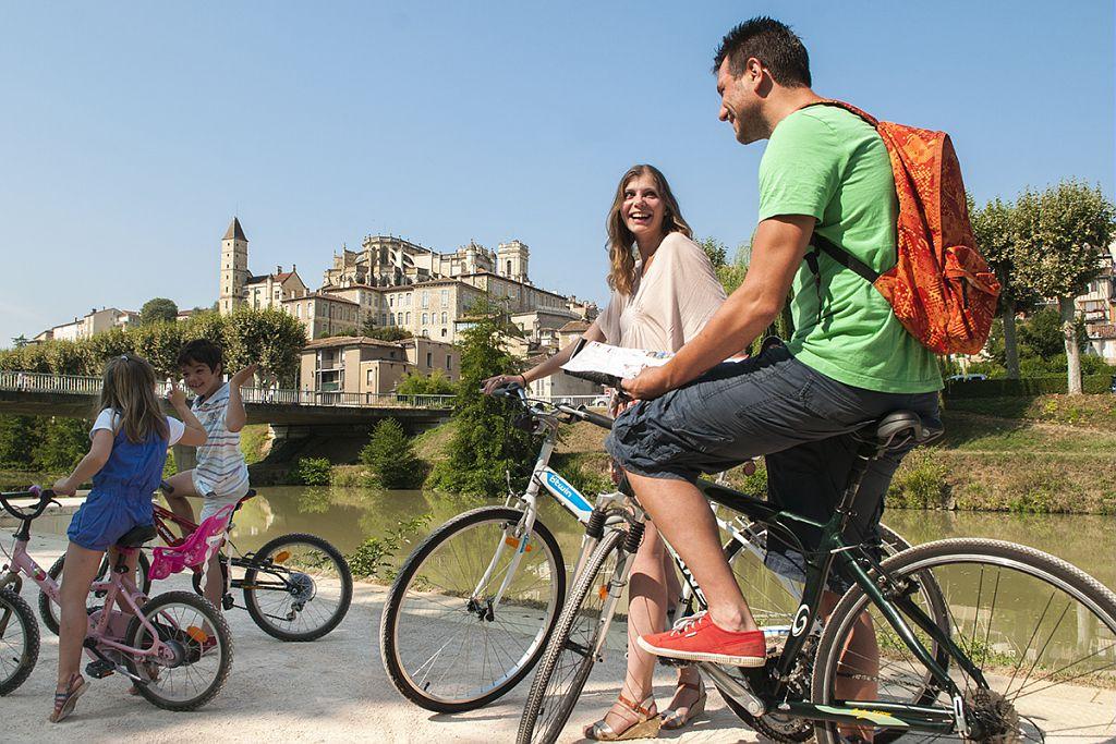 Berges du Gers à vélo