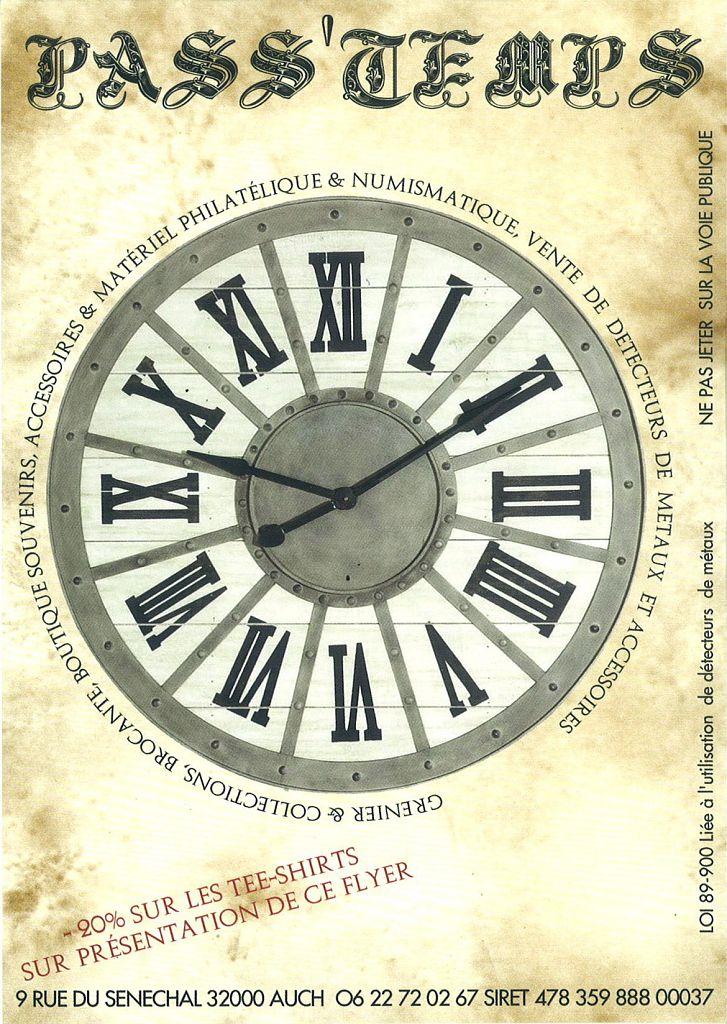 flyer Pass'temps