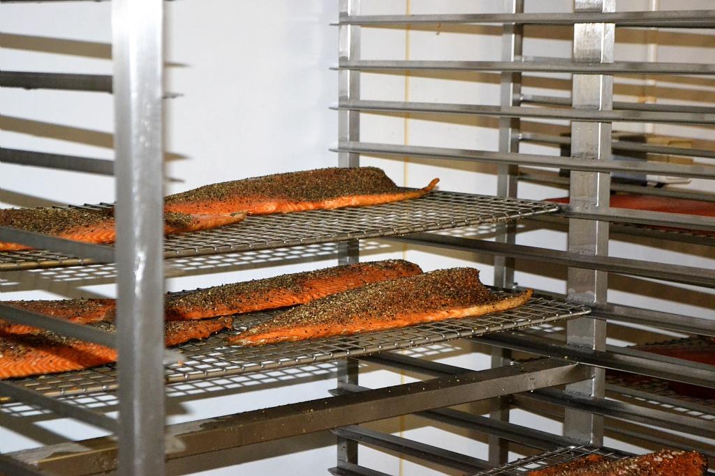 Fumaison du saumon