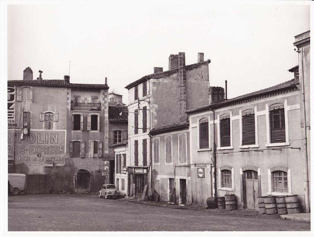 Quartier de la Treille janvier 1971