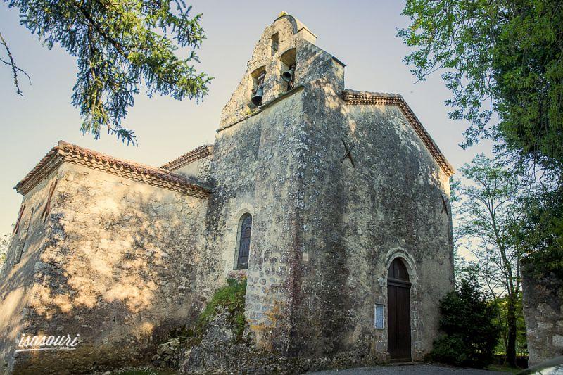église de Castillon-Massas