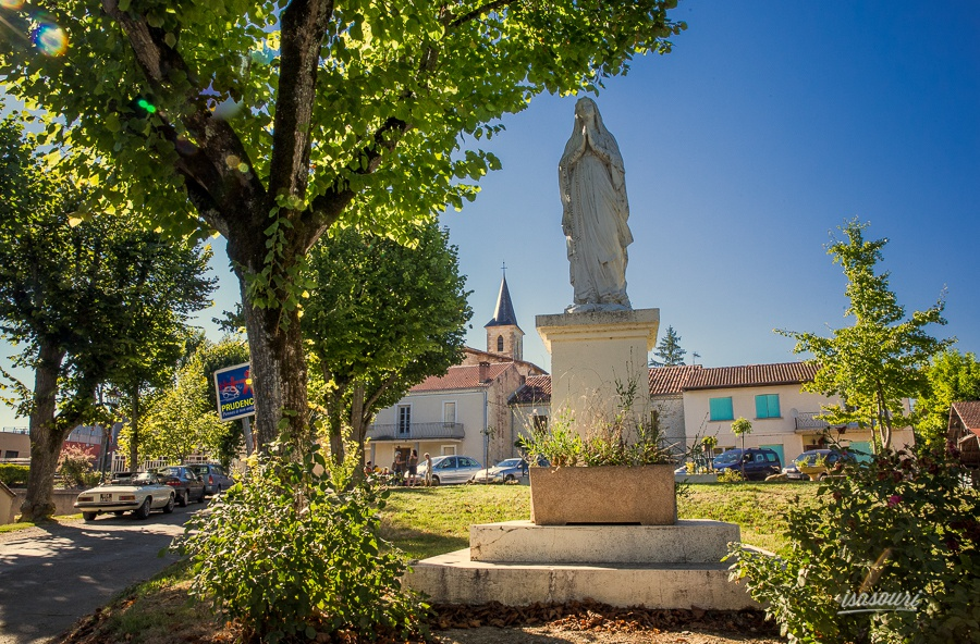 Entrée du village de Roquelaure