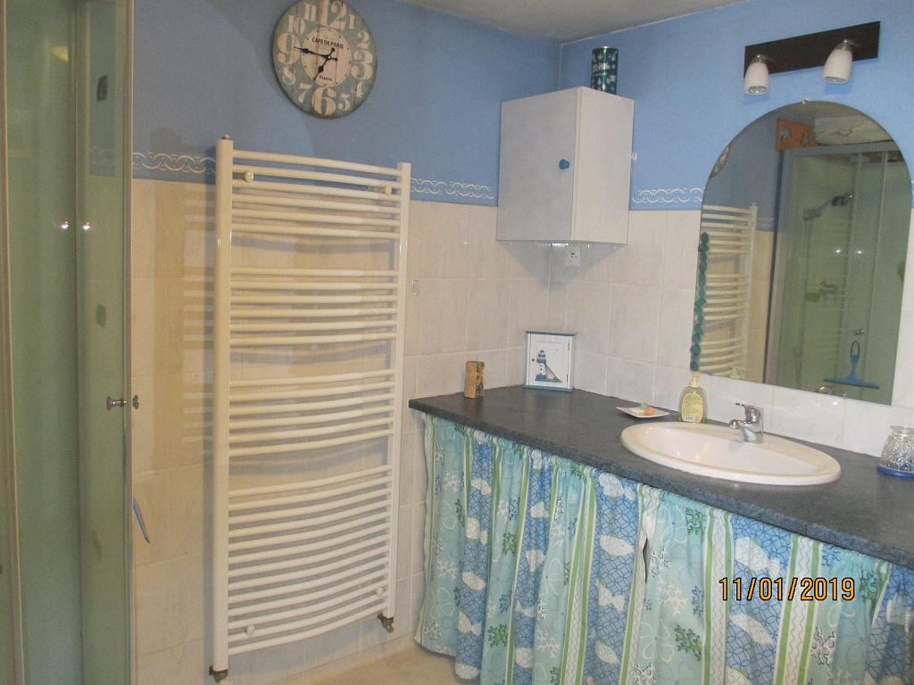 salle d'eau du gîte