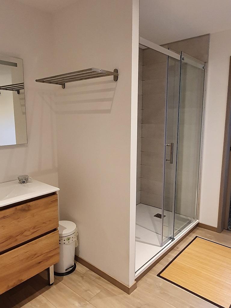 chambre à l'étage – douche italienne
