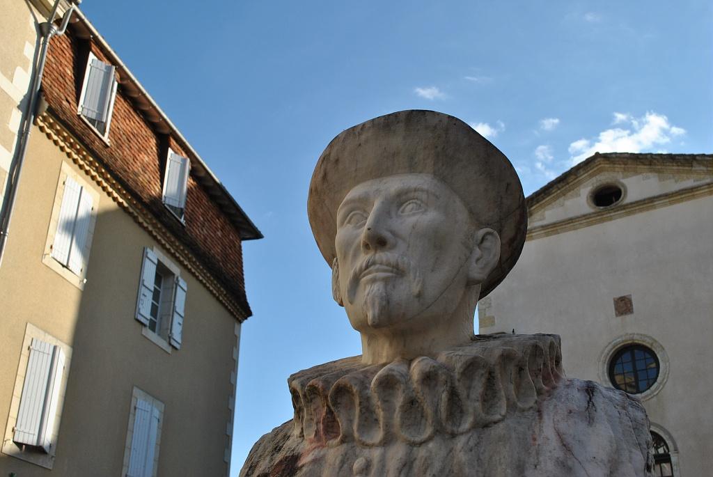 Guillaume de Saluste du Bartas, buste