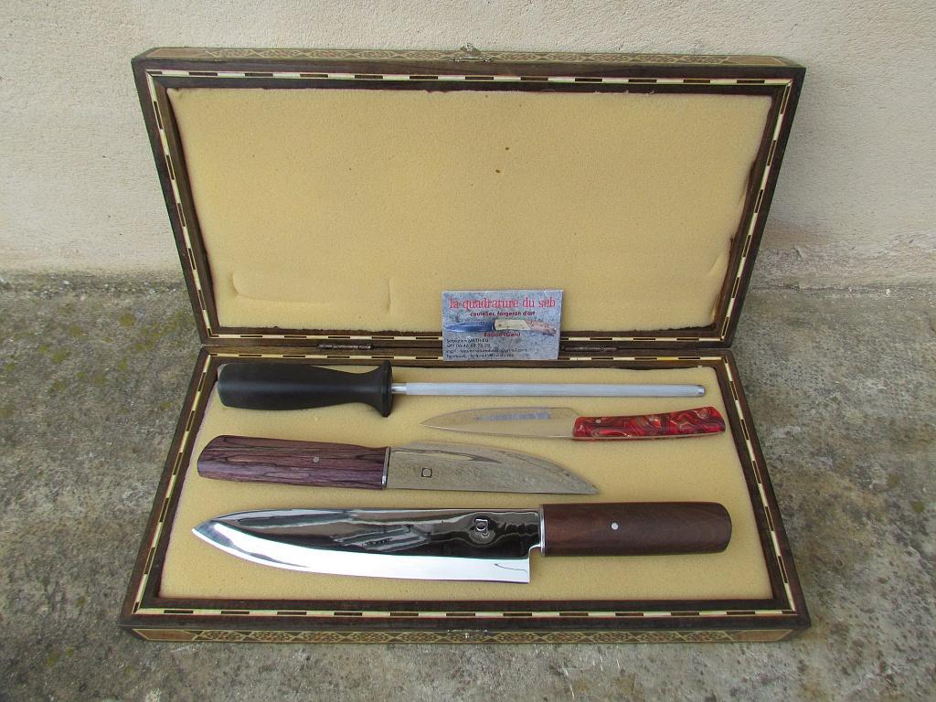 Malette couteaux
