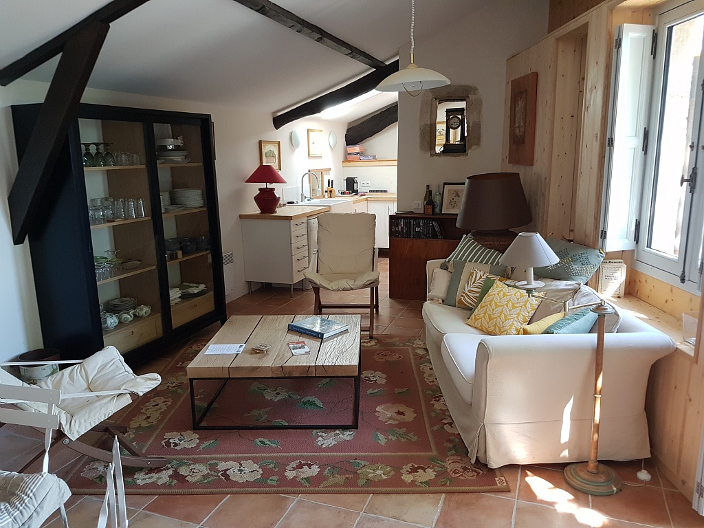 Salon – Gîte de Bordeneuve