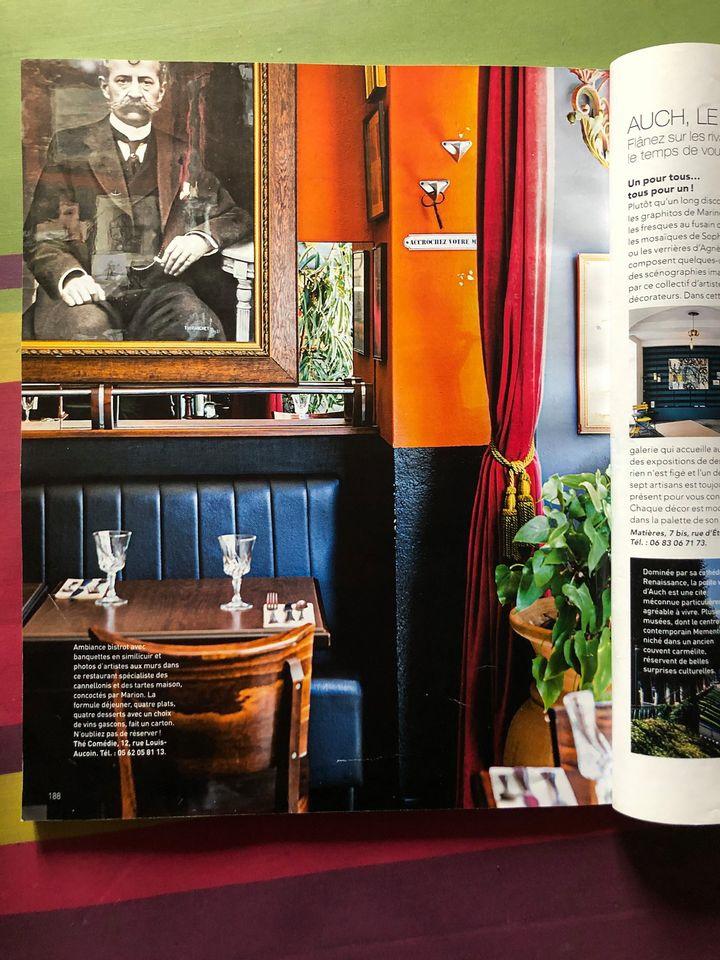 Publicación en la Revista Art & Décoration Gers 2020