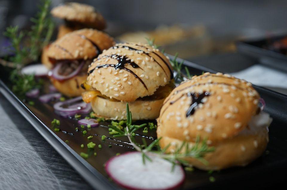 Mini hamburguesas de tapas