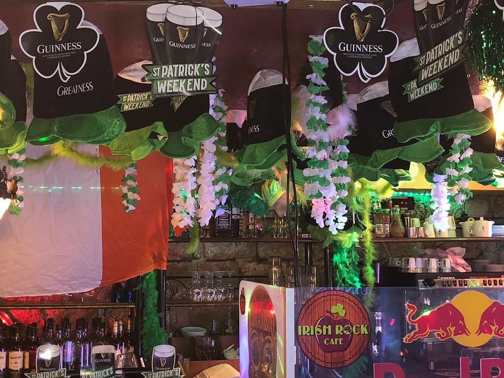 Ambiente irlandés de San Patricio